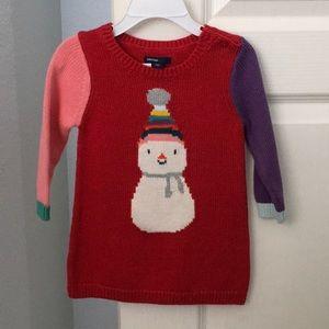 NWT Baby Gap sweater dress - 12-18 months
